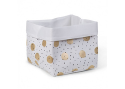 Childhome kutija White Gold Dots
