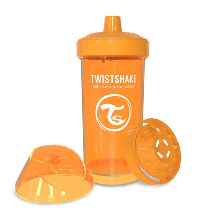 Twistshake Kid cup 360ml Neon Orange