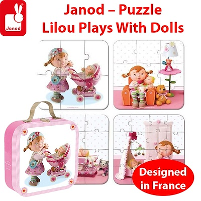 Janod Puzzle Varuška Maša (Lilou plays with dolls)