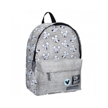 My Little Bag® Okrogel Nahrbtnik Mickey Mouse Go For It! Grey