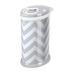 Ubbi Koš za plenice - Grey Chevron
