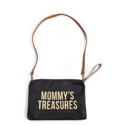 Torbica Mommys Treasures Black-Gold Childhome