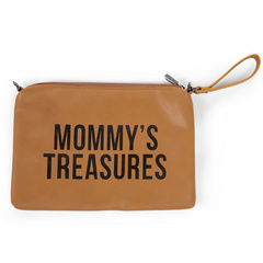 Childhome torbica Mommys Treasures - Leather look brown