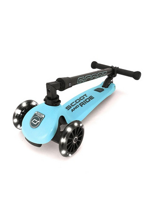 Otroški skiro Scoot&Ride - Highwaykick 3 LED Blueberry
