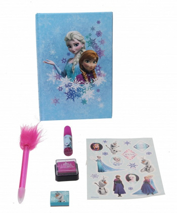 Disney Frozen dnevnik super set