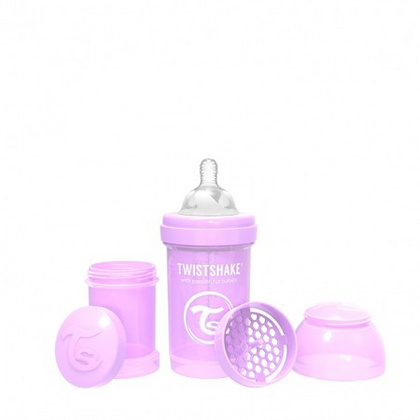 Twistshake® Anti-Colic Pastel Purple 180ml