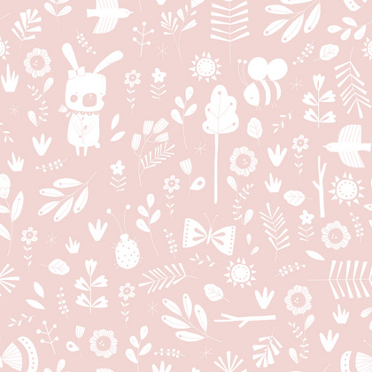 Odejica pure & soft Little Dutch - Adventure Pink 70x100