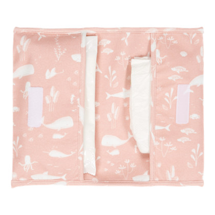 Nappy pouch Little Dutch - Ocean Pink
