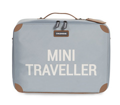 Childhome potovalni kovček 'MINI traveler' - Grey Off White