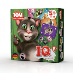 Talking Tom & friends družabna igra IQ.