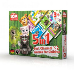 Talking Tom & friends set družabnih igr 5v1