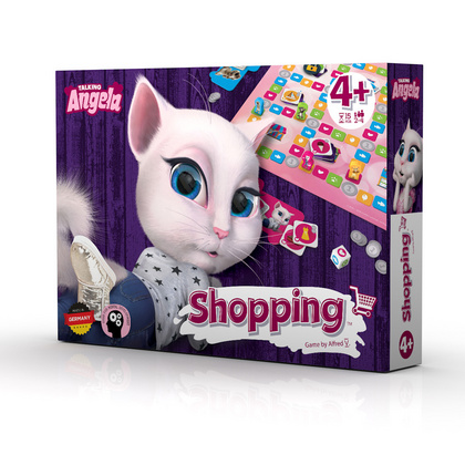 Talking Tom & friends družabna igra Shopping