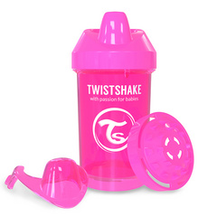 Twistshake Crawler/Kid cup Pink