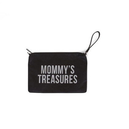 Torbica Mommy Treasures Black-Silver