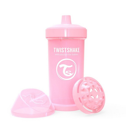 Twistshake® Kid cup 360ml Pastel Pink
