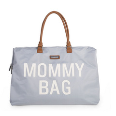 Borsa Fasciatoio Mommy Bag Big Grey Off White