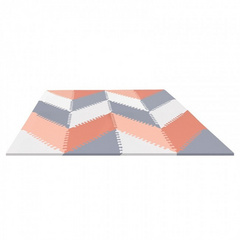 Tappeto componibile Play Spots Skip Hop - Grey/Peach