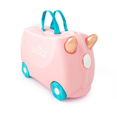 Valigia Trunki Flossi Flamingo