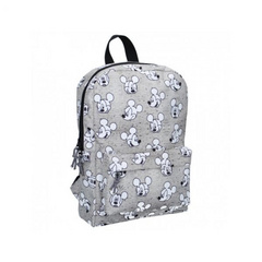 My Little Bag® Zaino Mickey Mouse Go For It! Grey