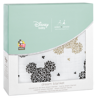 Aden+Anais® Copertina Disney Mickey's 90th 120×120