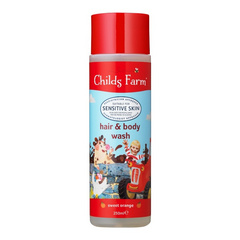 Childs Farm, Shampoo + Bagno Orange 250ml