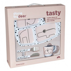 Done by Deer® Set pappa iniziale Happy Dots Tasty - powder