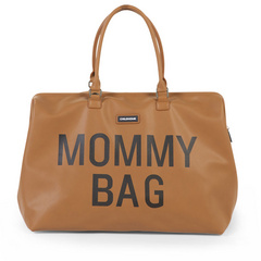 Borsa Fasciatoio Mommy Bag leatherlook brown Childhome