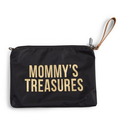 Borsa Mommy Treasures Black-Gold