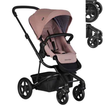 Passeggino Easywalker Harvey 2 All-Terrain - Desert Pink