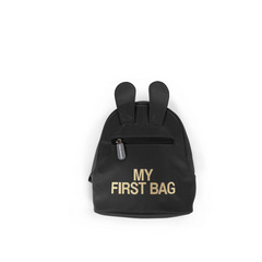 Childhome zaino 'MY FIRST BAG'  black