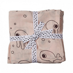 Done by Deer® Set Panni burp - Sea friends, powder