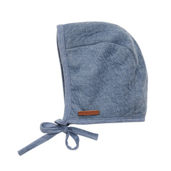 Berretto bambino con cinghie Little Dutch - Pure Blue