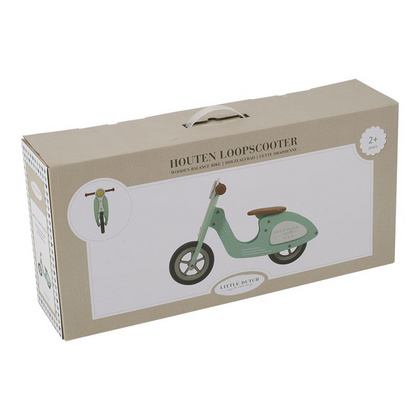 Scooter in legno Little Dutch - Blue