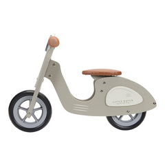 Scooter in legno Little Dutch - Olive