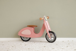Scooter in legno Little Dutch - Pink