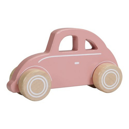 Scarabeo di legno Little Dutch - Pink