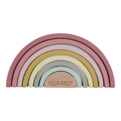 Arcobaleno in legno Little Dutch - Pink