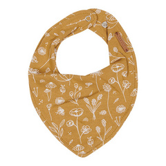 Little Dutch Bavaglini a bandana - Wild Flowers Ochre