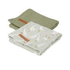 Little Dutch Set di 2 pannolini tetra - Little Goose