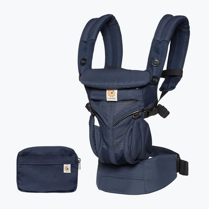 Ergobaby Marsupio Omni 360 Tutto In Uno Cool Air Mesh , Midnight Blue