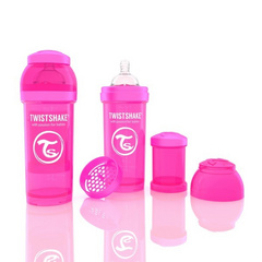 Twistshake Biberon Anti-Colica 260ml Neon
