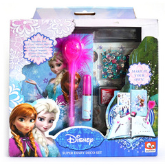 Frozen dnevnik super set