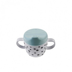 Done by Deer® Tazza per bambini con due manici Happy Dots