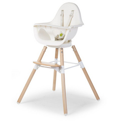 Childhome Evolu ONE.80° White/Natural