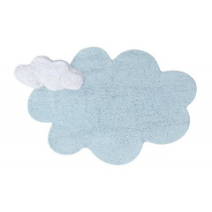 Tappeto bambino Lorena Canals - Puffy Dream Blue